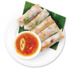 Steamed Rice Rolls with Grilled Pork B�nh Cu?n Th?t N??ng