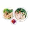 Vermicelli in Soup with Sauteed Pork Balls & Pork Sausage B�n M?c